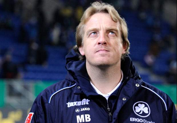 Greuther Furth sack coach Mike Buskens