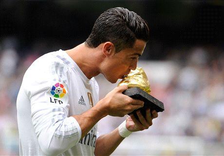 SOCIAL SNAP: Ronaldo's training skills