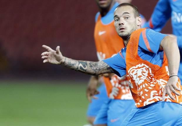 Sneijder vond afwezigheid in Oranje logisch
