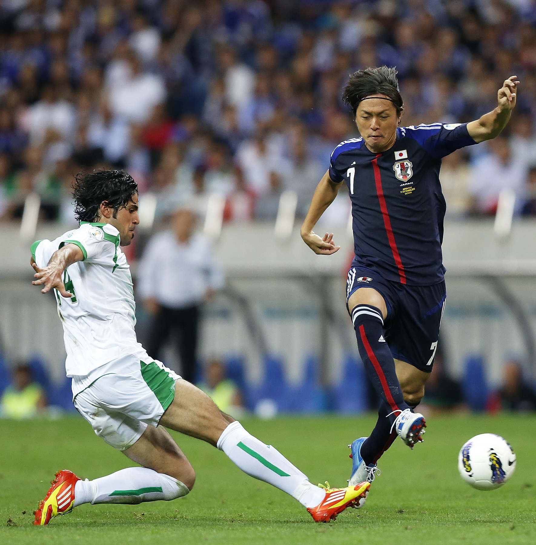 出場試合数で見る日本代表の名選手たち