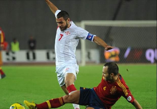 최강 스페인, 약체 조지아에 1-0 진땀승