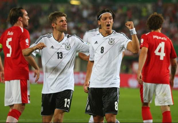 Austria 1-2 Germany: Ozil & Reus earn victory in Vienna