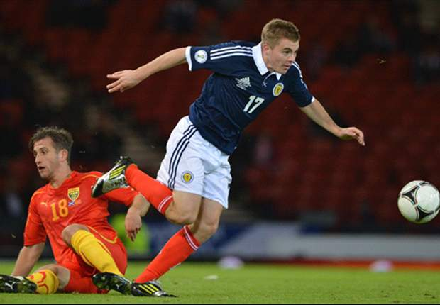 Celtic winger Forrest ruled out of Scotland qualifiers with back injury