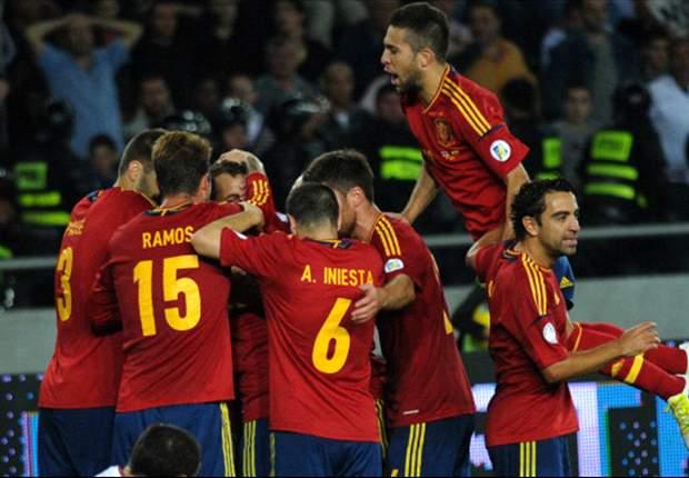 España jugará un amistoso ante Uruguay el 6 de febrero