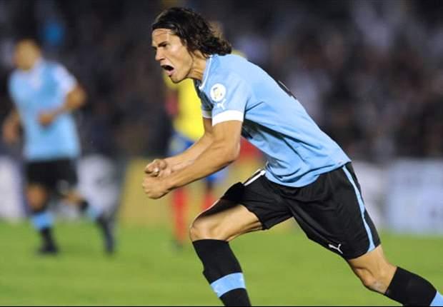 Suárez-Cavani, la dupla de Uruguay contra España