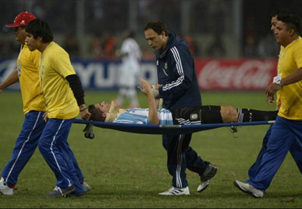 Gago hospitalizado en Lima
