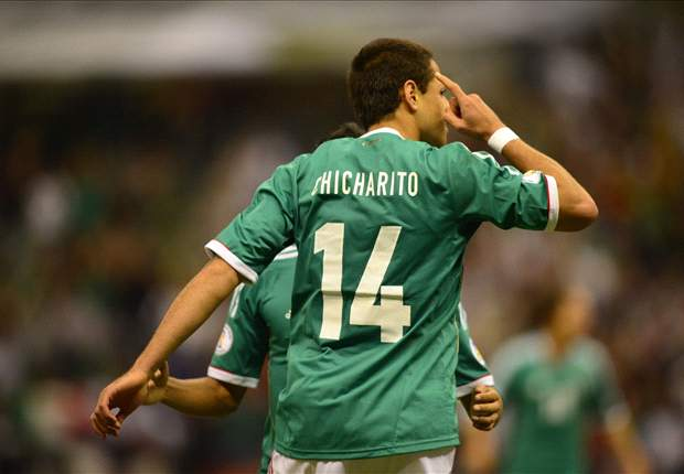 Chicharito denies goal celebration was aimed at rival fans