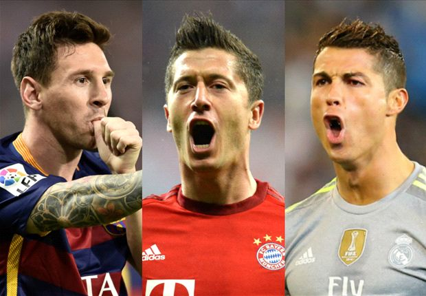 Lewandowski: You can't compare me with Messi & Ronaldo ...