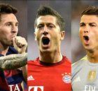 Messi, CR7 e a luta pela artilharia da Champions League