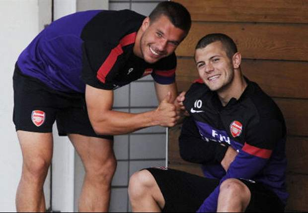 Wilshere is 'buzzing' after return to Arsenal training, says Walcott