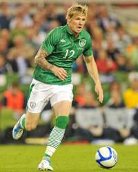 Andy Keogh, Ireland International