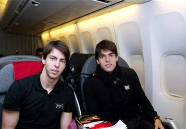 Digão pictured with his brother Kaka