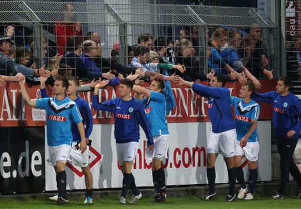 Stuttgarter Kickers sollen gegen den KSC im Stadion des VfB spielen