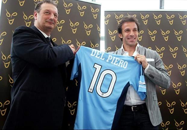 Alessandro Del Piero: No puedo esperar para jugar en Australia