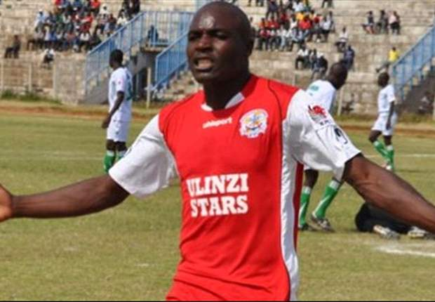 Striker Wycliffe Ochomo scores for Ulinzi Stars on return from injury
