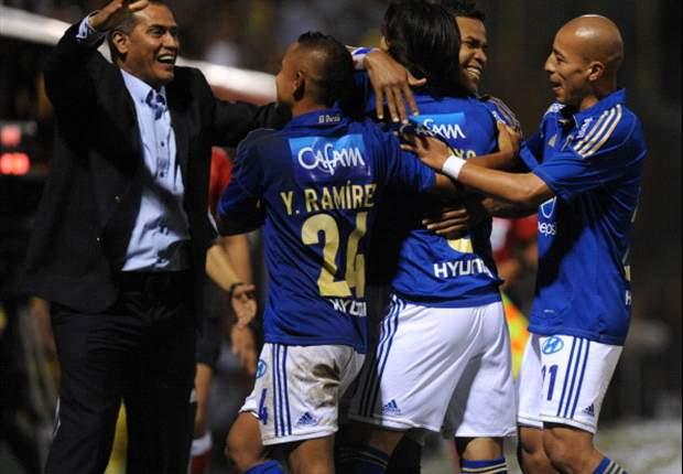 Millonarios empata con Guaraní y se deposita en los octavos de la Sudamericana (1-1)