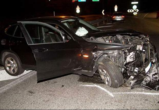 Ezequiel Schelotto, con heridas leves tras sufrir un accidente de coche