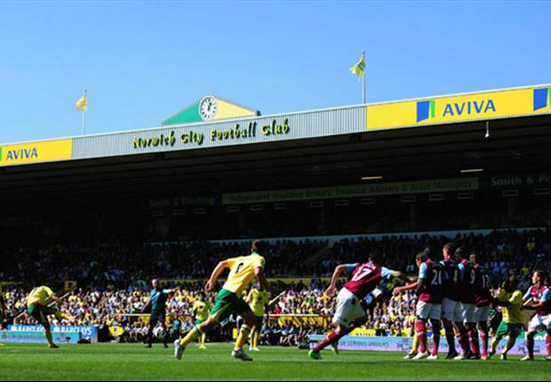 Norwich City valora la expansión de Carrow Road