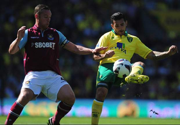 Norwich 0-0 West Ham: Hughton still searching for first league win after Hammers stalemate