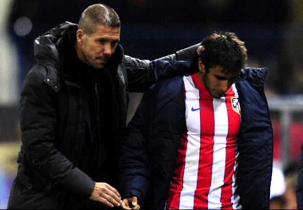 Diego Simeone: La salida de Salvio fue por motivos económicos