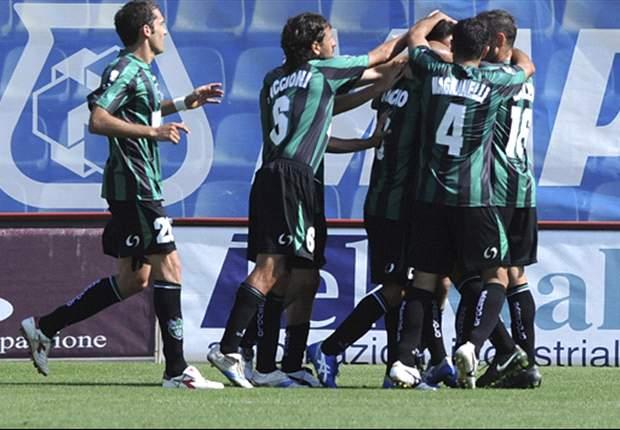 Serie B, 5ª - Il Sassuolo vince ancora, il Livorno cade a Modena e viene raggiunto dal Varese. Prima vittoria per il Cesena