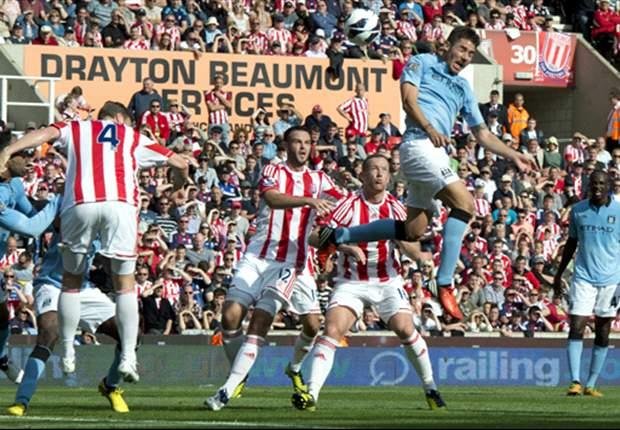 Imbangi Manchester City, Stoke City Jaga Rekor