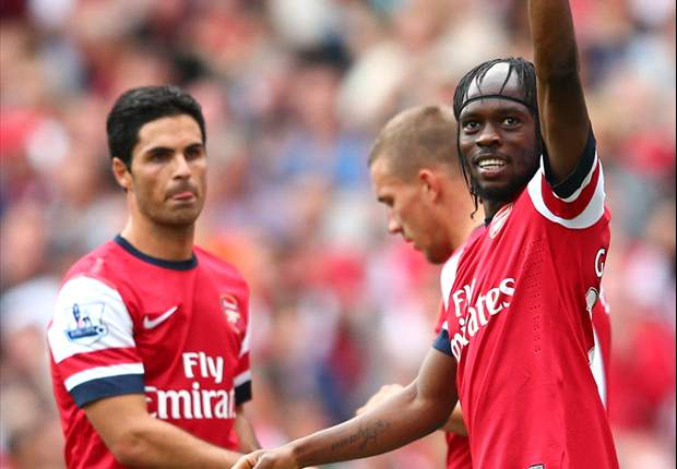'We turn all our wingers into strikers!' - Wenger hails two-goal Arsenal hero Gervinho