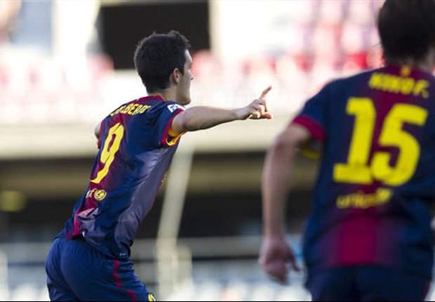 Barcelona B 3-3 Numancia: Final de locos en el Mini Estadi