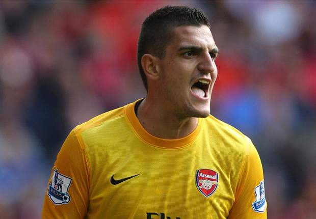 'I want to stay at Arsenal as long as I can' - Mannone commits future to Gunners