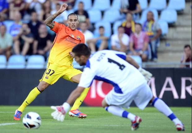 Cristian Tello, a punto de renovar con el FC Barcelona