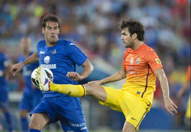 Cesc Fabregas: I have had tough times before in my career, but I'm happy at Barcelona