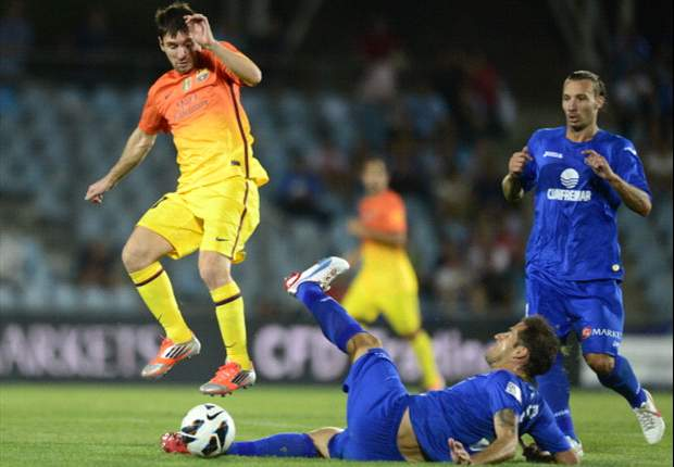Getafe 1-4 Barcelona: Messi nets twice from bench in straightforward triumph