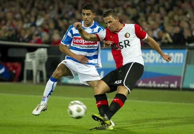 Verhoek terug in de basis bij Feyenoord