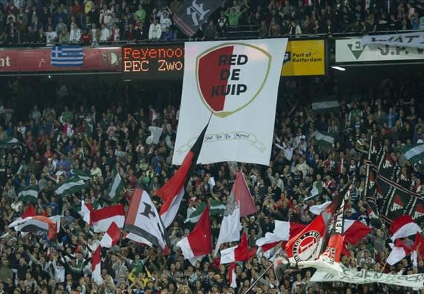 Update: Feyenoord ontkent gelddeal met hooligans