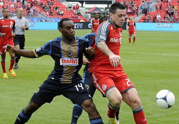 Toronto FC 1-1 Philadelphia Union: Late Williams goal earns Union point on the road