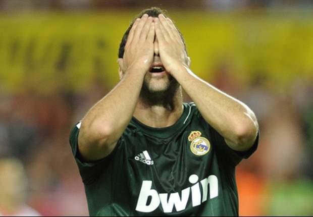 Gonzalo Higuaín estará tres semanas de baja por lesión