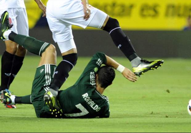"""Cristiano Ronaldo, tan flojo como """"triste"""" ante el Sevilla"""
