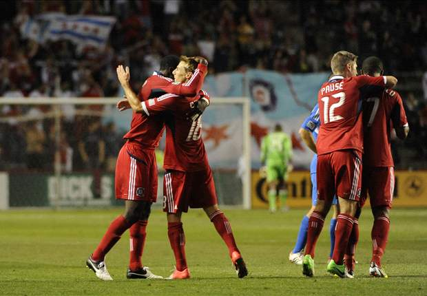 Chicago Fire 3-1 Montreal Impact: Fire move to within one point of first