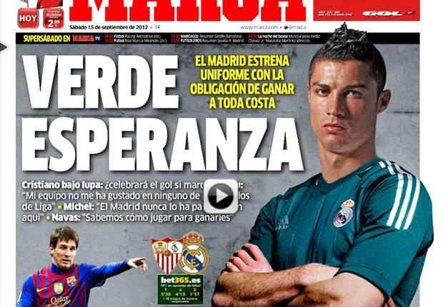 Marca fusionó a Cristiano Ronaldo y Xabi Alonso