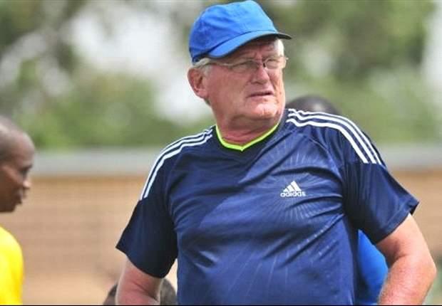 Medeama coach Hans Van Der Pluijm
