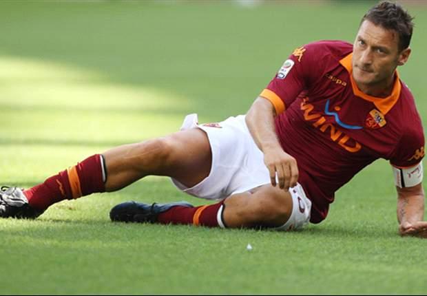 Francesco Totti Absen Lawan Cagliari