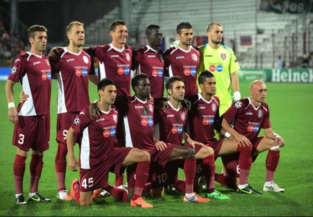 Dos goles de Rafael Bastos dan el triunfo al Cluj