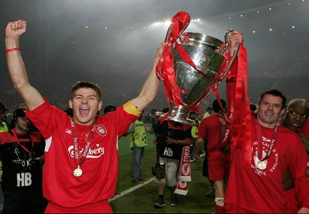 Carragher hails Liverpool's 'greatest ever player' Gerrard
