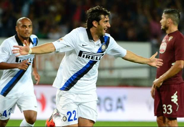 El Inter vuelve al triunfo con un gol de Diego Milito