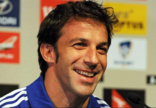 Alessandro Del Piero: 'I know there's a lot of pressure, and I love that'