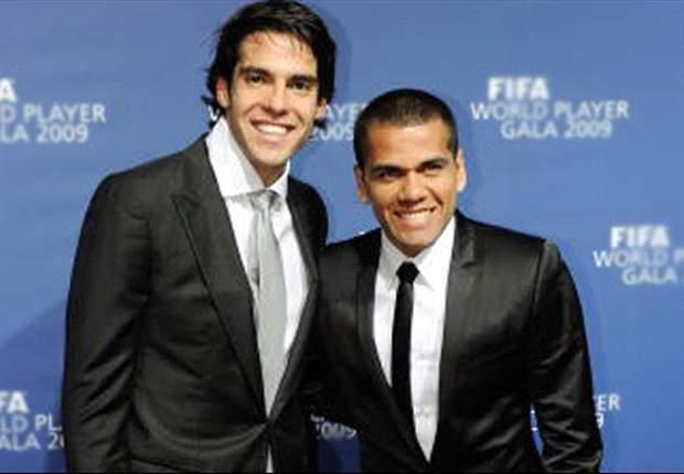 Dani Alves: Bei Barcelona wäre Kaka besser behandelt worden