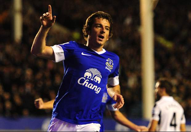 Everton monitoring Baines ankle injury