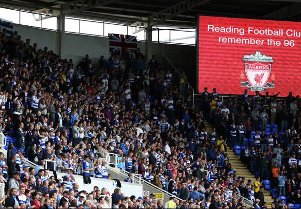 Reading announce minute's silence before Liverpool clash for Hillsborough anniversary