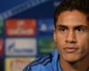 Varane: Quiero seguir en el Real Madrid