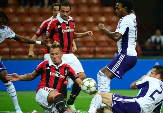 Anderlecht Tahan Milan Di San Siro
